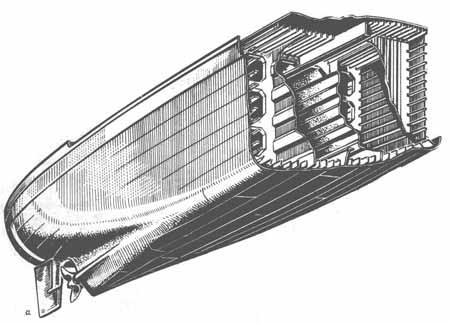 b — контейнеровоз